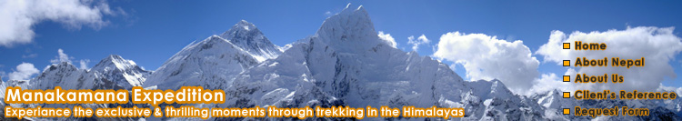 Manakamana Expedition - Experience the exclusive and thrilling moments through trekking in the Himalayas